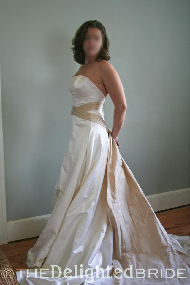 Marisa bridal style 569 wedding dress on sale 95 off for Best way to sell used wedding dress