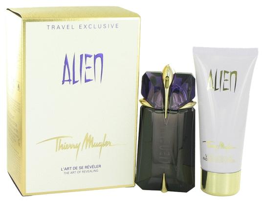 Angel by Thierry Mugler NIB Alien Gift Set for Women by Thierry Mugler (Set includes 2 oz Eau De Parfum Spray Refillable & 3.4 oz Body Lotion)