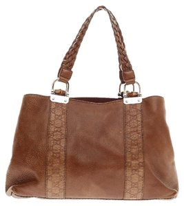 Gucci Brown Leather Tote