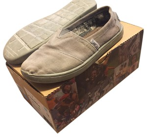 TOMS Kids Youth Nordstrom Ash Canvas Flats