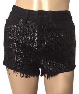 PINK Victoria's Secret Denim Shorts-Dark Rinse
