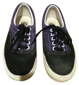 Vans Purple and Black Athletic