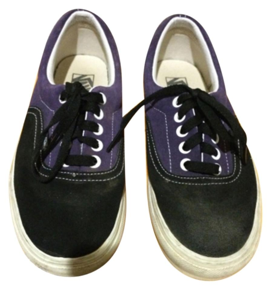 Vans Purple and Black Sneakers Size US 8 Regular (M 0ff5da49b