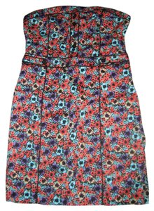 Divided by H&M short dress Multi floral on Tradesy