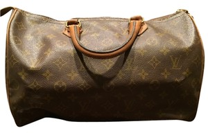 Louis Vuitton Vintage Iconic Luxury Tote in Monogram