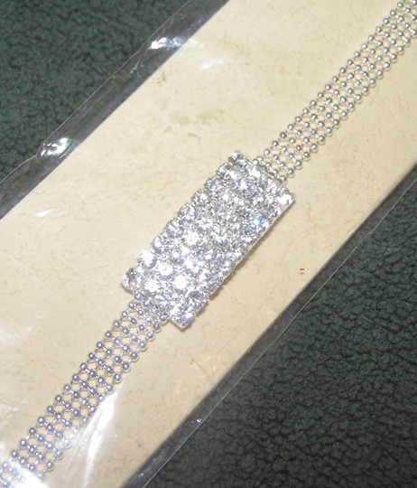 Rhinestone Adjustable Bracelet Free Shipping