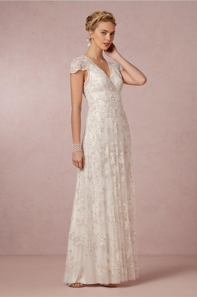 Anthropologie Mira Gown Wedding Dress Size 2 (XS) - Tradesy