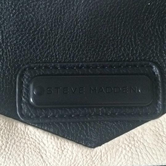 Steve Madden Tote in Black And Off White
