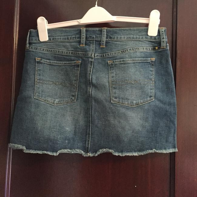 Lucky Brand Mini Skirt Medium washed blue