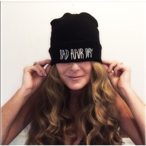 Hip Hop Bad Hair Day Embroidered Beani
