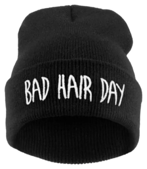 Other Hip Hop Bad Hair Day Embroidered Beani