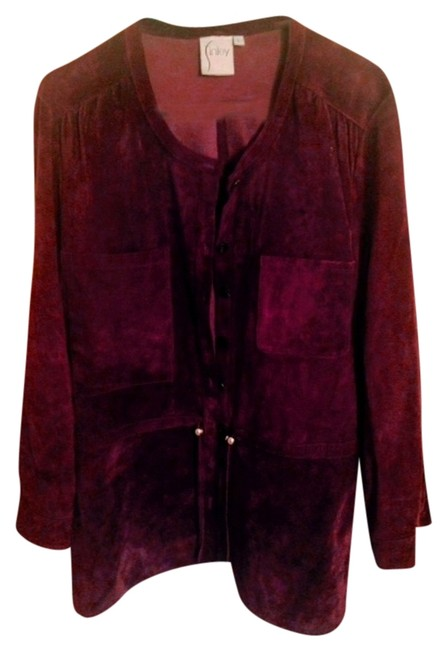 Preload https://item5.tradesy.com/images/finley-eggplant-suede-leather-jacket-size-14-l-5122969-0-0.jpg?width=400&height=650
