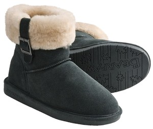 Bearpaw Snow Sheep Skin Fur Wool Evergreen Boots