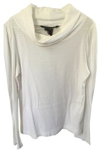 Marc by Marc Jacobs Longsleeve Horizontal Line T Shirt White
