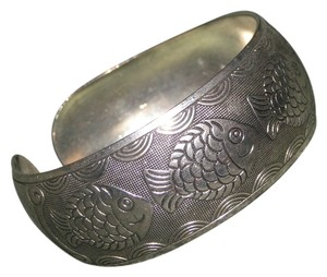 Other Antiqued Tibet Silver Wide Cuff Bracelet Free Shipping
