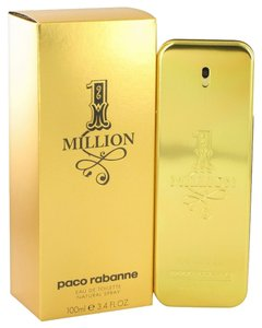 1 Million Cologne for Men by Paco Rabanne, 3.4 oz. EDT
