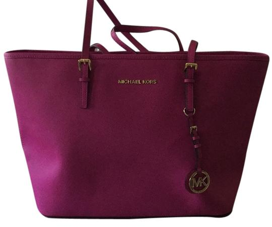 Michael Kors Pink New Tote in Fuschia