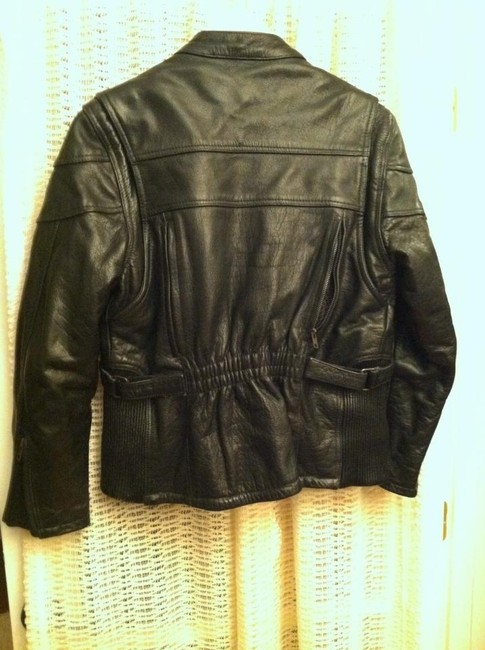 Frontier Leathers Leather European Motorcycle Motorcycle Jacket
