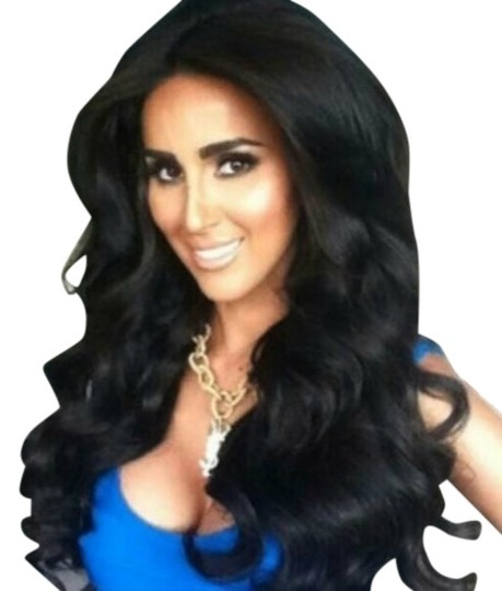 Beauty Treasures Beautiful Black Body Wave Full Lace Front Wig 20-24 inches long, medium cap.