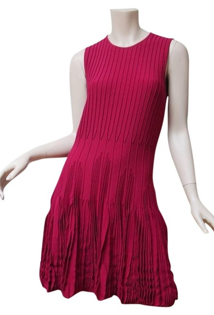 Preload https://img-static.tradesy.com/item/5124850/alexander-mcqueen-violet-new-fuxia-knit-above-knee-cocktail-dress-size-4-s-0-0-650-650.jpg