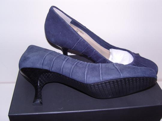 Tahari Indigo Blue Pumps
