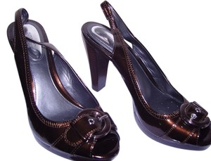 Alfani Comfortable Brown Pumps