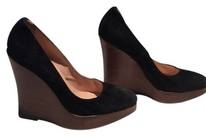 Browns ID Black Wedges