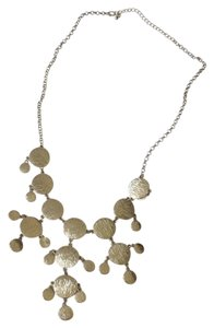 Stitch Fix Silver Stitch Fix Statement Necklace