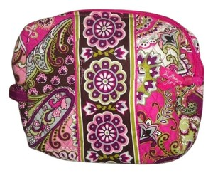 Vera Bradley magenta make up bag