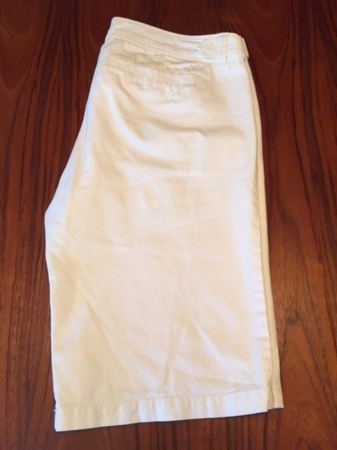 Abercrombie & Fitch Bermuda Shorts White Image 4