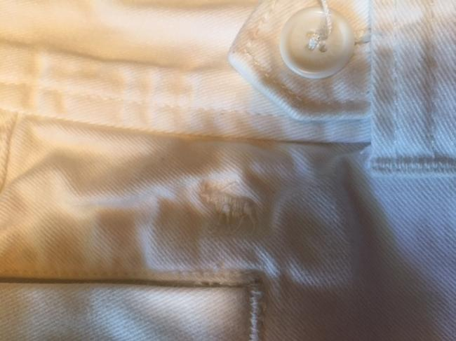 Abercrombie & Fitch Bermuda Shorts White Image 5