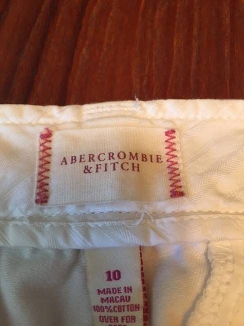 Abercrombie & Fitch Bermuda Shorts White Image 6
