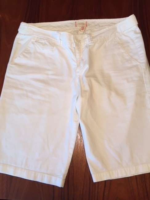 Abercrombie & Fitch Bermuda Shorts White Image 8