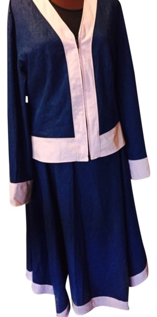 Preload https://item3.tradesy.com/images/independent-clothing-co-blue-and-pink-denim-real-skirt-suit-size-18-xl-plus-0x-5125597-0-0.jpg?width=400&height=650