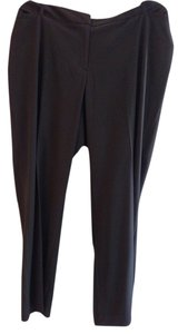 Worthington Straight Pants Black