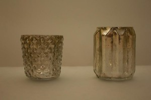 Target Mercury Glass Holders Votive/Candle