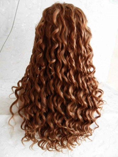 Other Beautiful Curly Custom Full Lace Front Wig- inches
