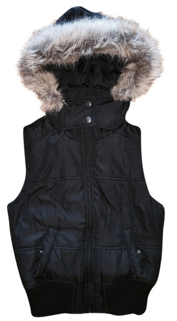Preload https://item3.tradesy.com/images/express-black-vest-size-2-xs-5126962-0-0.jpg?width=400&height=650
