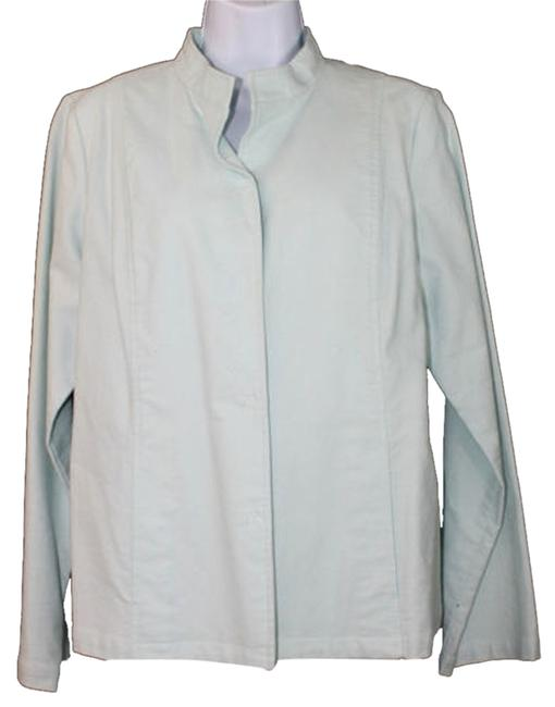 Preload https://img-static.tradesy.com/item/5127412/eileen-fisher-light-blue-cotton-spandex-blend-jacket-m-blazer-size-8-m-0-0-650-650.jpg