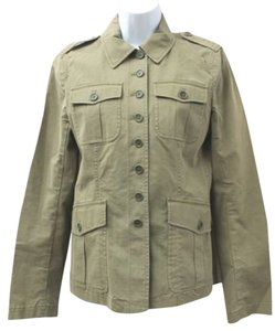 Theory Military Inspired Stretch Cotton Fatigue Jacket Blazer