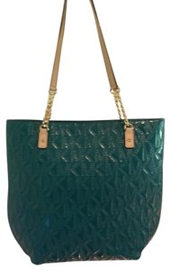 Michael Kors Tote in Deep Sea Green