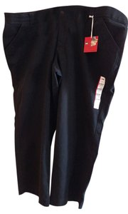 Lee Straight Pants Black