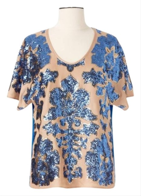 Tracy Reese Neiman Marcus/Target Top Blue