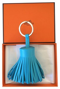 Hermès Hermes Aztec Blue Single Carmen Bag Charm Key Chain