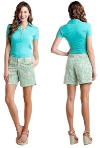 Lilly Pulitzer Bermuda Shorts GREENS PINKS