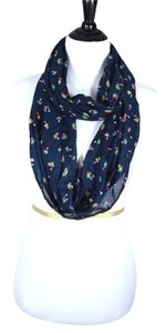 Maurices Sailboat Circle Scarf in Navy Blue from Maurices