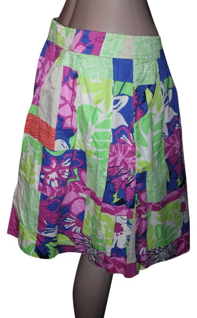 Preload https://item1.tradesy.com/images/lilly-pulitzer-multicolor-knee-length-skirt-size-6-s-28-5128285-0-0.jpg?width=400&height=650