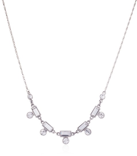 Ben-Amun Clear Petite Melody Crystal Necklace