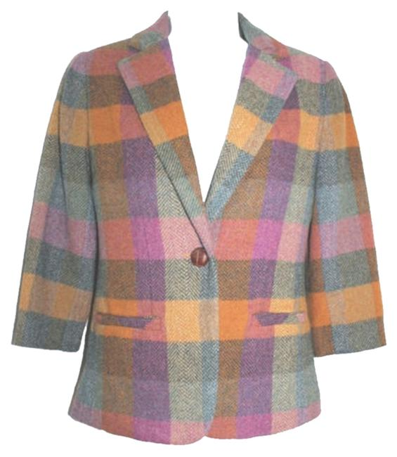 Preload https://item1.tradesy.com/images/cabi-plaid-print-multi-colored-single-breasted-wool-blend-jacket-0-blazer-size-0-xs-5128495-0-0.jpg?width=400&height=650