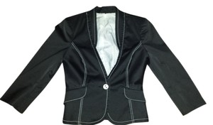 bebe black & white Blazer